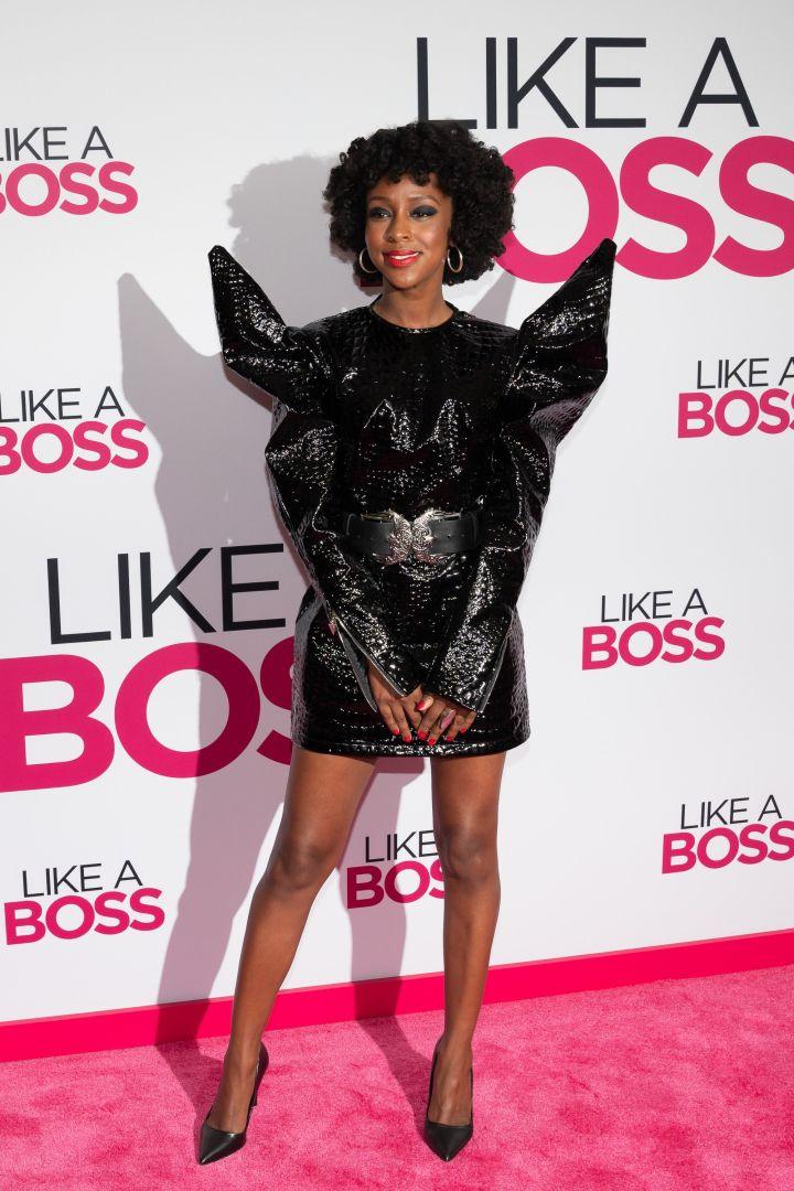 "Ebony Obsidian at the ""Like A Boss"" World Premiere"