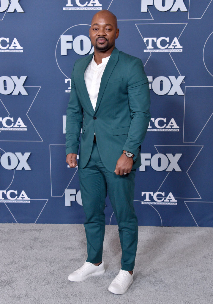 Brian Michael Smith at the FOX Winter TCA All Star Party
