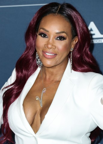 Actress Vivica A. Fox arrives at the FOX Winter TCA 2020 All-Star Party held at The Langham Huntington Hotel on January 7, 2020 in Pasadena, Los Angeles, California, United States.