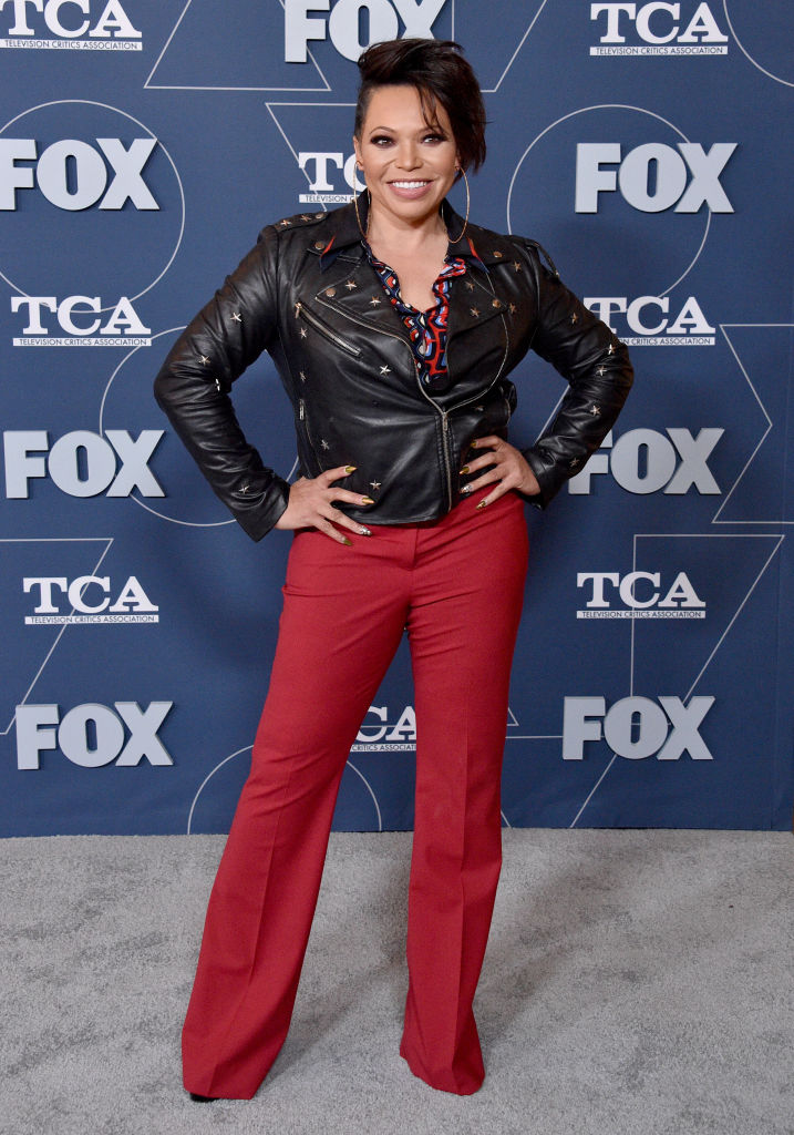 Tisha Campbell at the FOX Winter TCA All Star Party