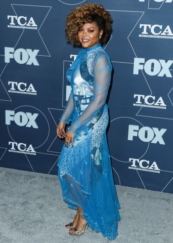Actress Taraji P. Henson arrives at the FOX Winter TCA 2020 All-Star Party held at The Langham Huntington Hotel on January 7, 2020 in Pasadena, Los Angeles, California, United States.