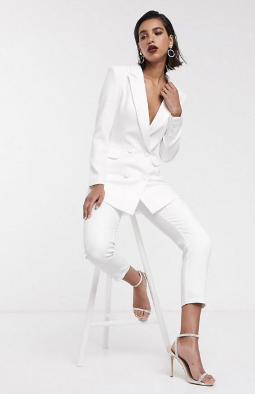 ASOS EDITION Tailored Suit In White
