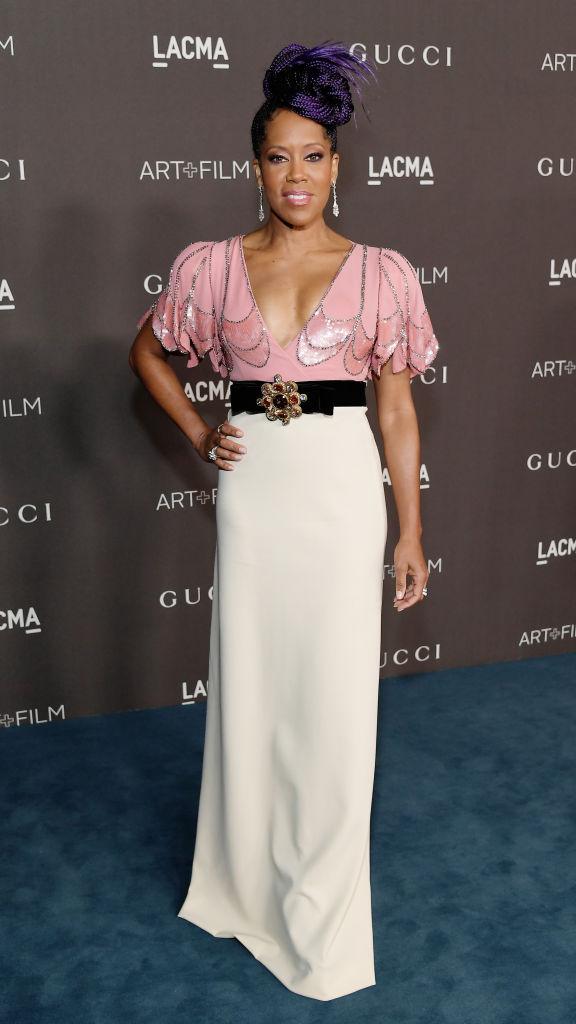 REGINA KING AT THE LACMA ART + FILM GALA, 2019