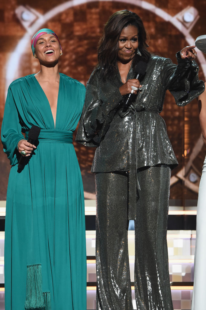 MICHELLE OBAMA AT THE 61ST ANNUAL GRAMMY AWARDS, 2019
