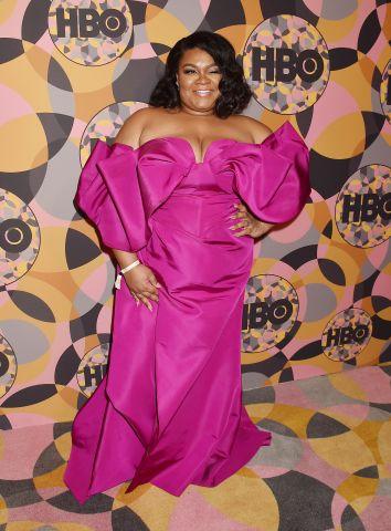 Da'Vine Joy Randolph at HBO's Official Golden Globes After Party at Circa 55 Restaurant