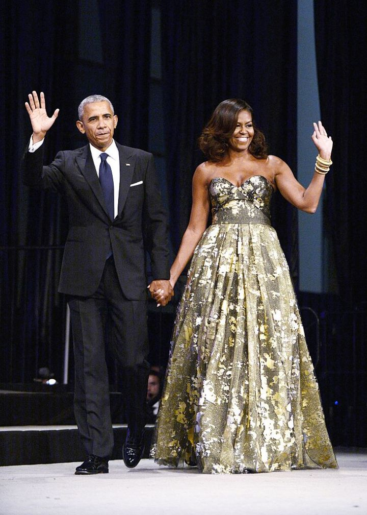 MICHELLE AND BARACK OBAMA AT THE CONGRESSIONAL BLACK CAUCUS ANNUAL PHOENIX AWARDS, 2016