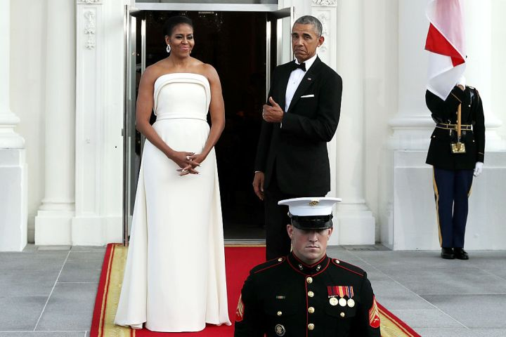 MICHELLE AND BARACK OBAMA HOSTED THE STATE DINNER FOR SINGAPORE'S PRIME MINISTER LEE HSIEN LOONG, 2016