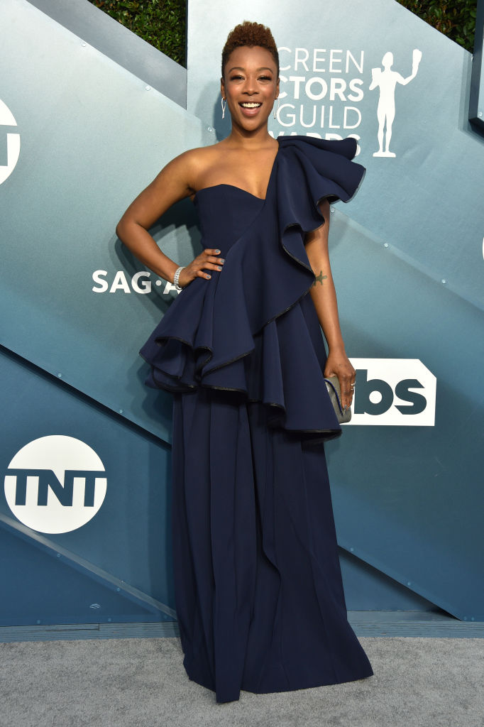 SAMIRA WILEY AT THE 26TH ANNUAL SCREEN ACTORSGUILD AWARDS, 2020