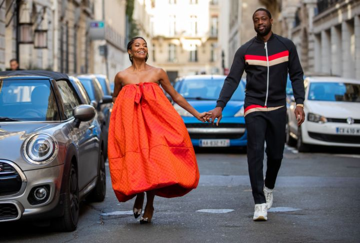 GABRIELLE UNION AND DWAYNE WADE IN PARIS, 2020