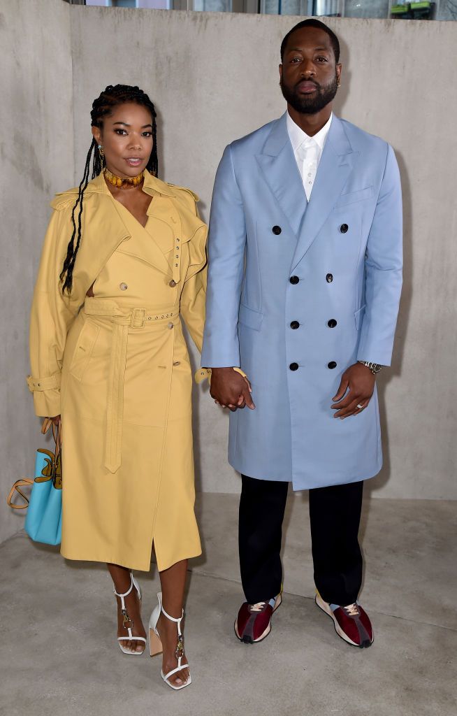 GABRIELLE UNION AND DWAYNE WADE AT THE LAVIN MEN'S SHOW, 2020