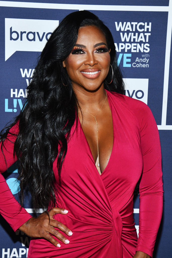 KENYA MOORE AT WATCH HAPPENS LIVE WITH ANDY COHEN, 2019