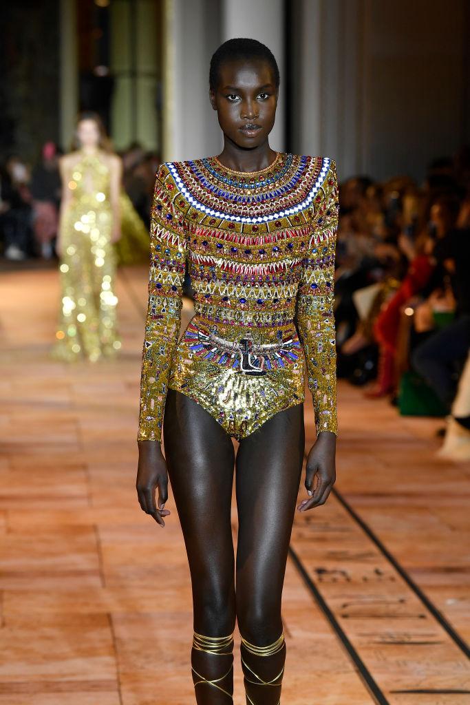 Zuhair Murad : Runway - Paris Fashion Week - Haute Couture Spring/Summer 2020