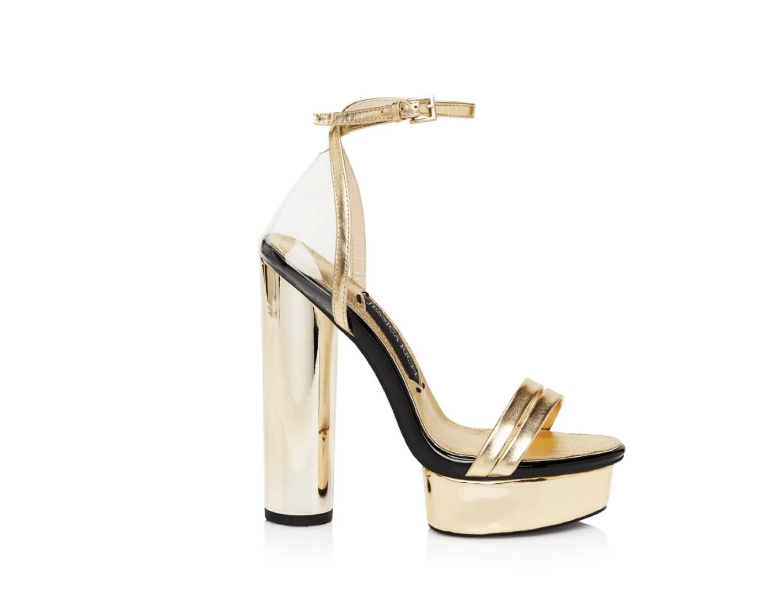 Jessica Rich Collection Gold Platform Sandal