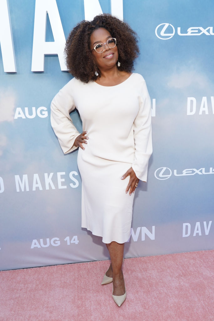 "OPRAH AT THE PREMIERE OF OWN'S ""DAVID MAKES MAN"", 2019"