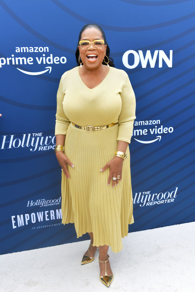 OPRAH AT THE HOLLYWOOD REPORTER'S EMPOWERMENT IN ENTERTAINMENT EVENT, 2019