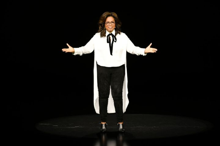 OPRAH AT AN APPLE PRODUCT LAUNCH, 2019