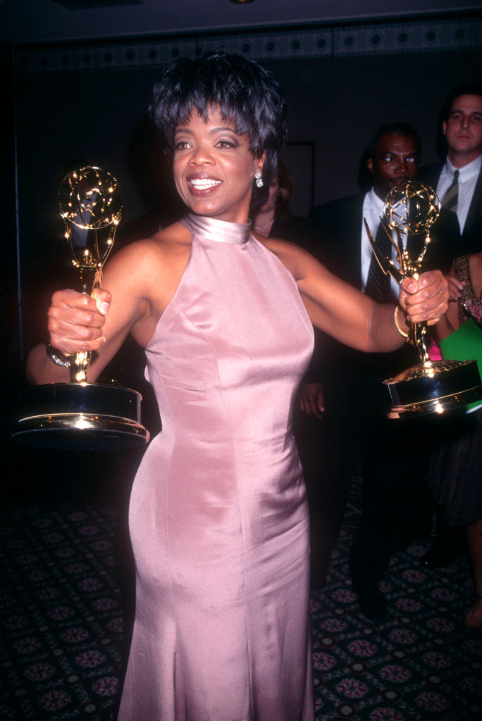 OPRAH AT THE 22ND DAYTIME EMMY AWARDS, 1995