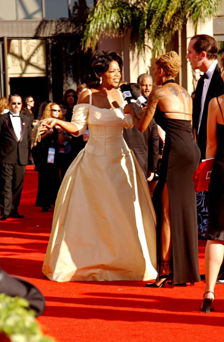OPRAH AT THE 54TH DATYIME EMMY AWARDS, 2002
