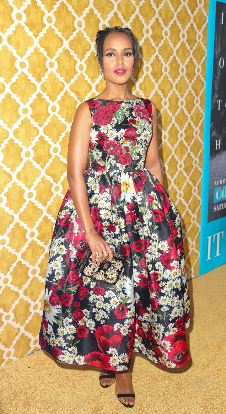"""KERRY WASHINGTON AT THE LA PREMIERE OF HBO FILMS' """"CONFIRMATION"""", 2016"""