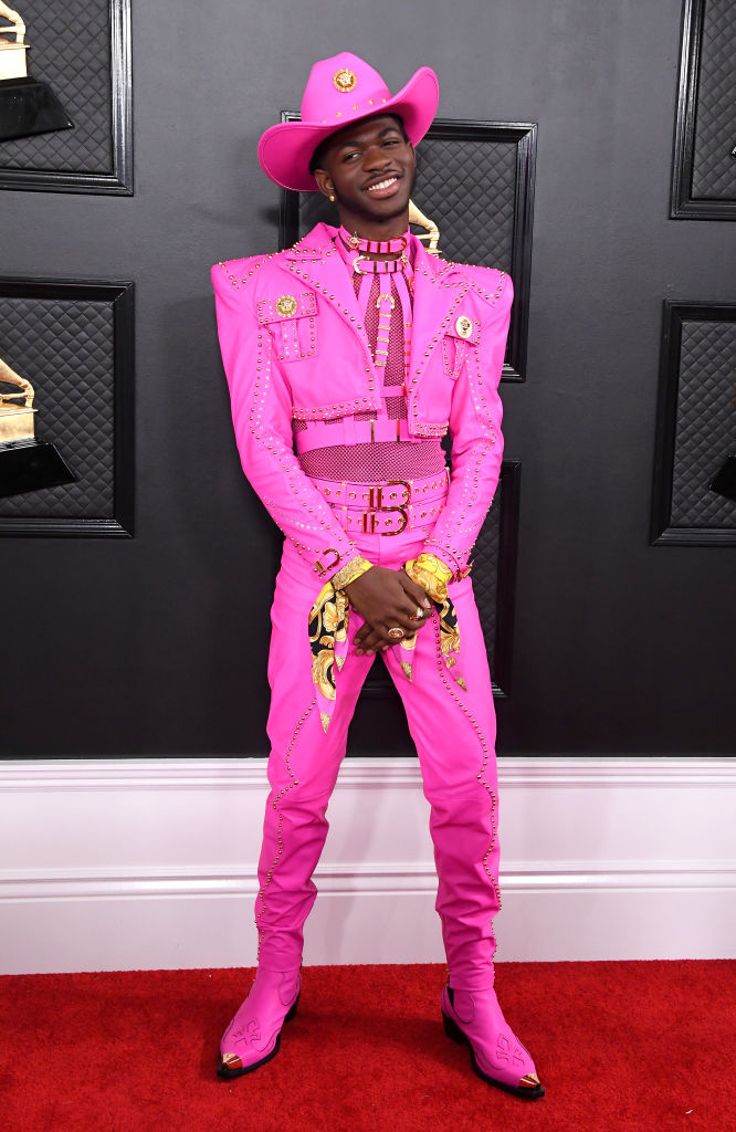 LIL NAS X AT THE 62ND ANNUAL GRAMMY AWARDS, 2020