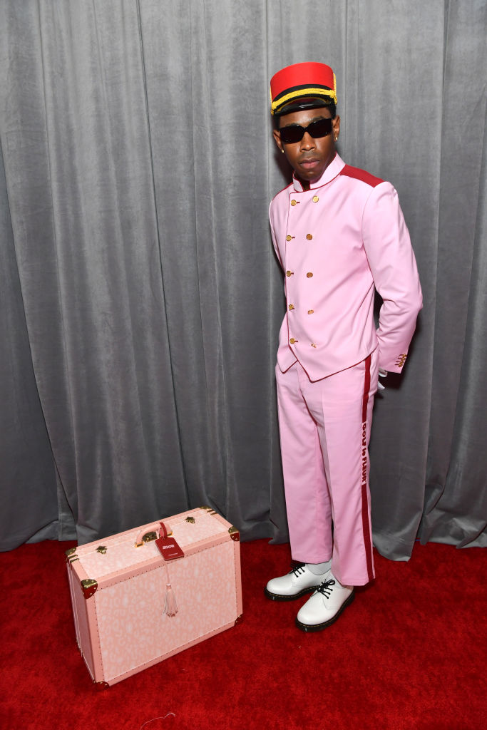 TYLER THE CREATOR AT THE 62ND ANNUAL GRAMMY AWARDS, 2020