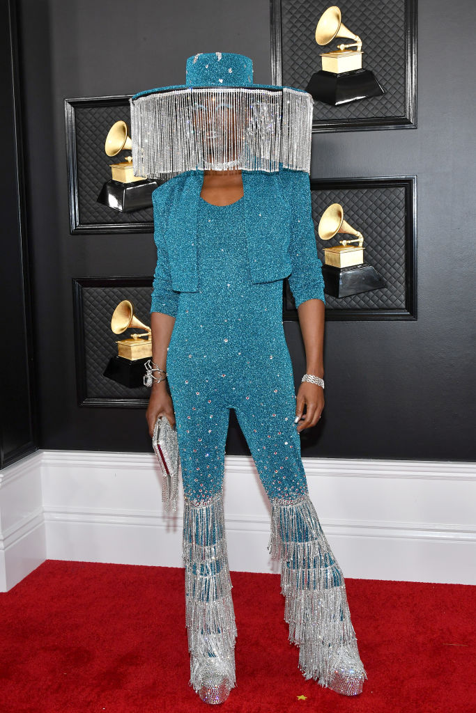 BILLY PORTER AT THE 62ND ANNUAL GRAMMY AWARDS, 2020