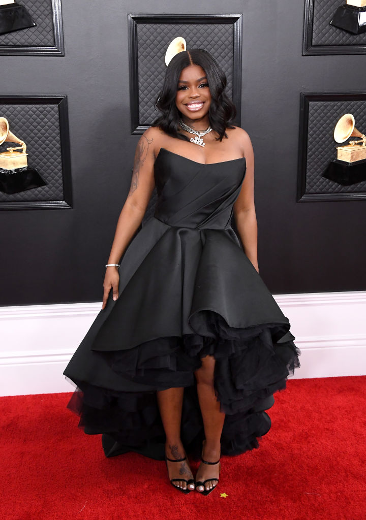 DREEZY AT THE 62ND ANNUAL GRAMMY AWARDS, 2020