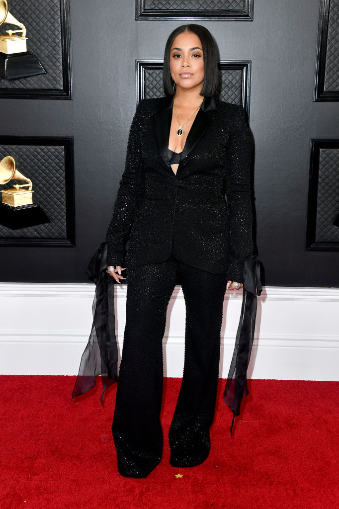 LAUREN LONDON AT THE 62ND ANNUAL GRAMMY AWARDS, 2020