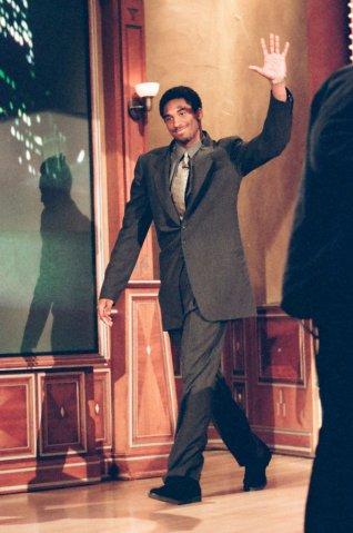 kobe bryant brown baggy suit