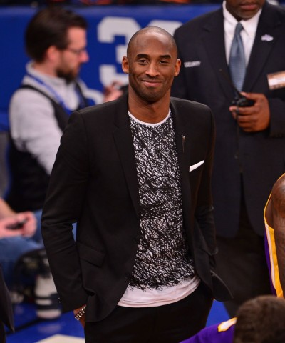 Celebrities Attend The Los Angeles Lakers Vs New York Knicks Game