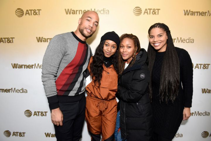 Kendrick Sampson, Alexis Chikaeze, Nicole Beharie and Director Channing Godfrey Peoples