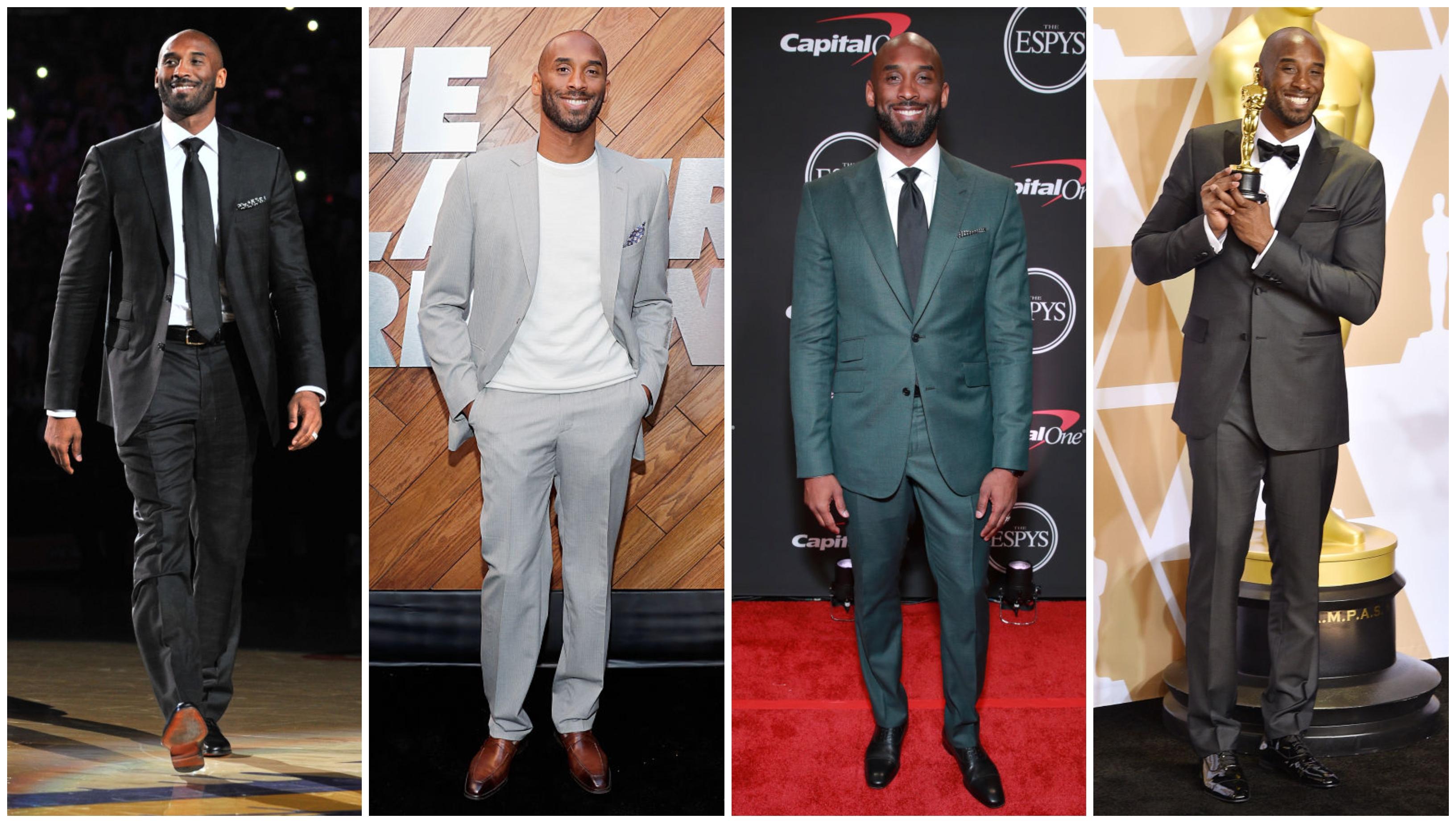 Kobe Bryant's Suit Game