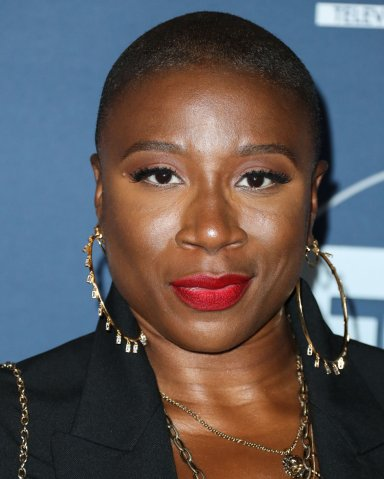 Aisha Hinds arrives at the FOX Winter TCA 2020 All-Star Party held at The Langham Huntington Hotel on January 7, 2020 in Pasadena, Los Angeles, California, United States.