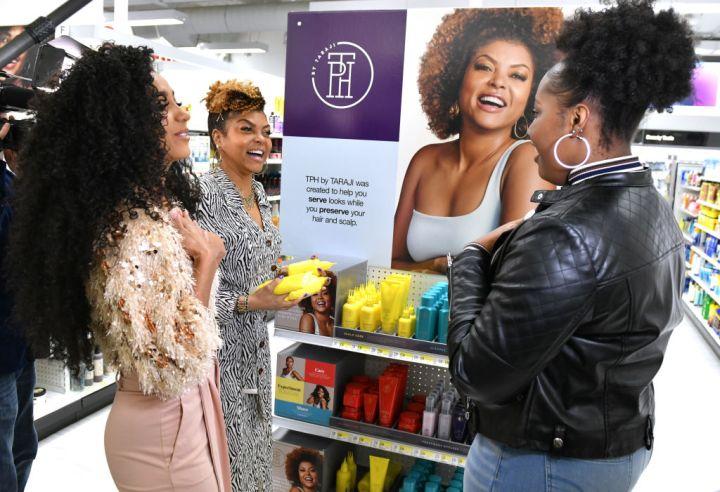 Taraji P. Henson Surprises Guests At Herald Square Target Store