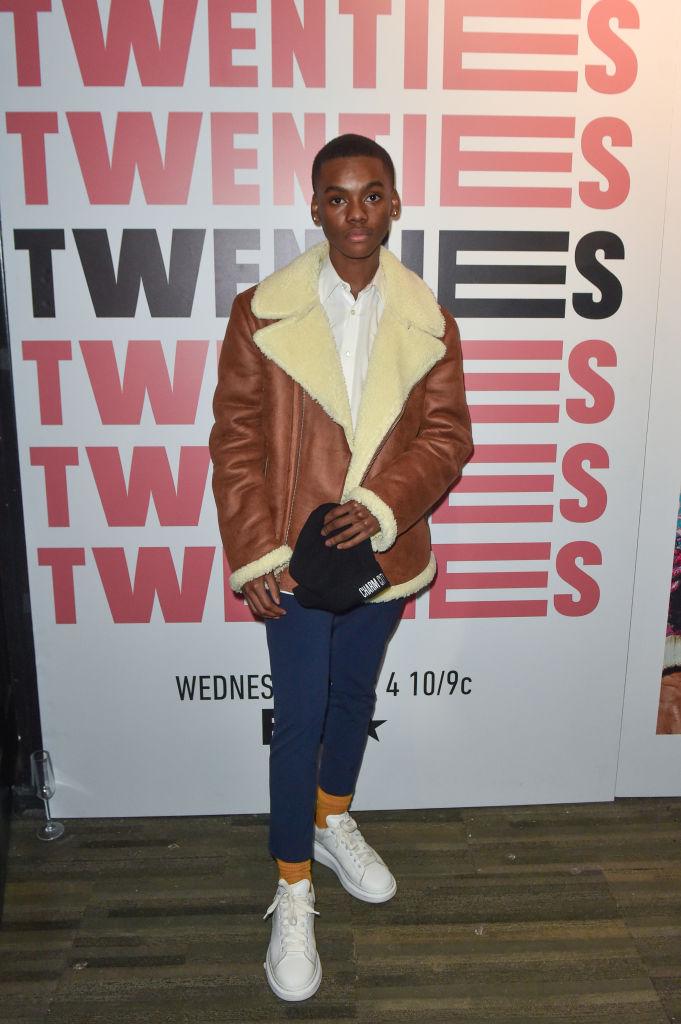 """Actor Jahi Di'Allo Winston at the """"BET TWENTIES"""" screening"""