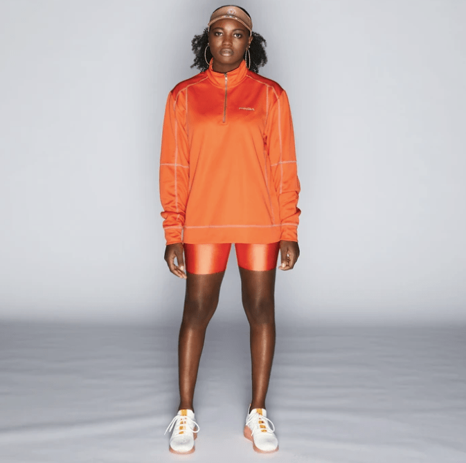POPEYES UNIFORM HALF ZIP UP ($38)