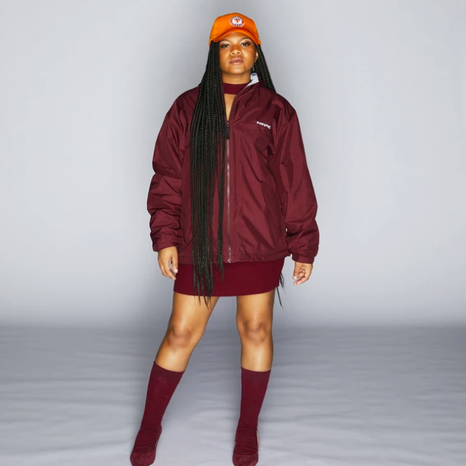 POPEYES UNIFORM HOODED JACKET ($40)