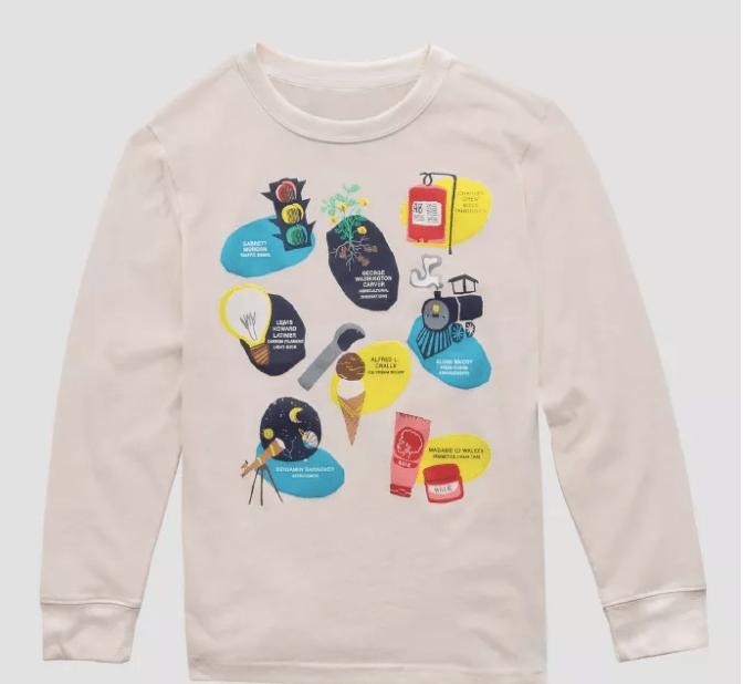 Kids' Inventors Long Sleeve T-Shirt ($12)