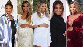 Ciara Maternity Style