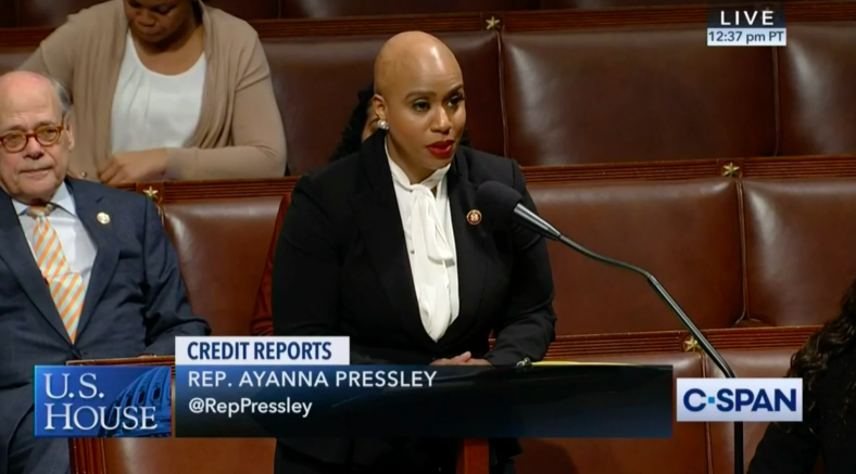 Ayanna Pressley Comprehensive Credit Act