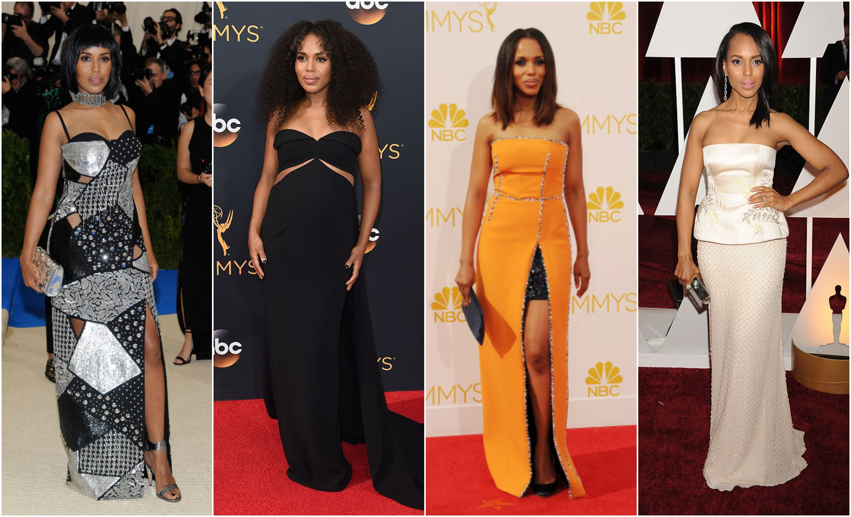 Kerry Washington Red Carpet Gowns