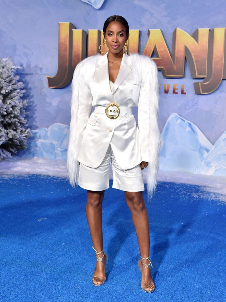"""KELLY ROWLAND AT THE PREMIERE OF """"JUMANJI: THE NEXT LEVEL"""", 2019"""