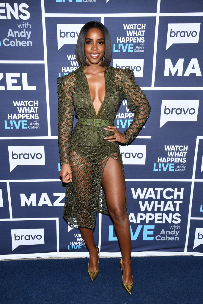 KELLY ROWLAND AT THE WATCH WHAT HAPPENS LIVE SHOW, 2019