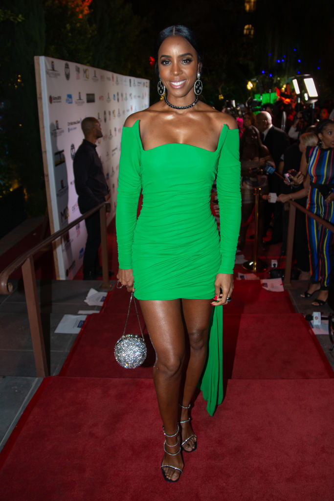 KELLY ROWLAND AT THE LIVING LEGENDS FOUNDATION ANNUAL AWARDS DINNER AND GALA, 2019