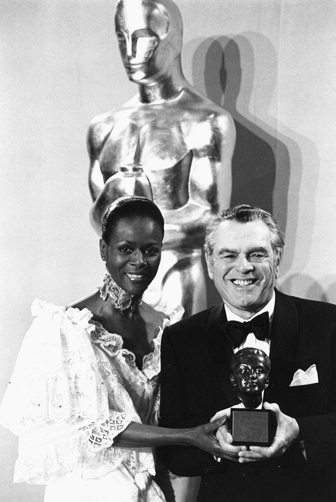 Cicily Tyson And Pandro S Berman, 1977