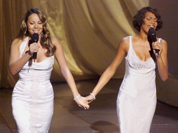 Mariah Carey and Whitney Houston, 1999