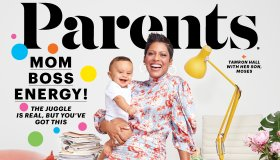 Tamron Hall March Cover/Issue of Parents Magazine