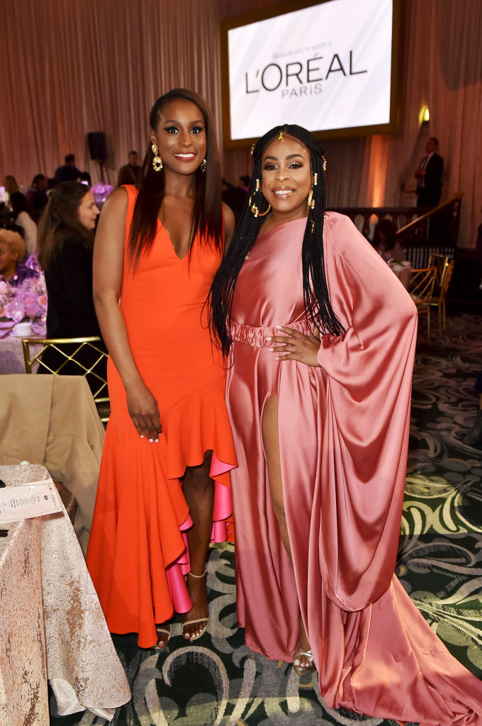Issa Rae and Niecy Nash
