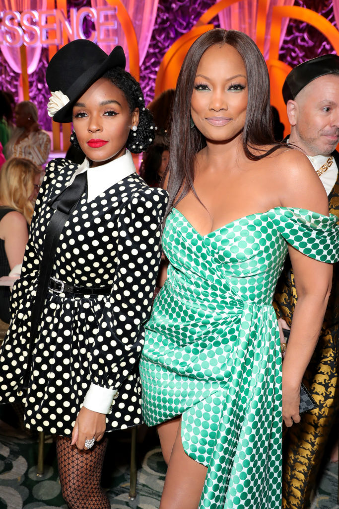 Janelle Monáe and Garcelle Beauvais