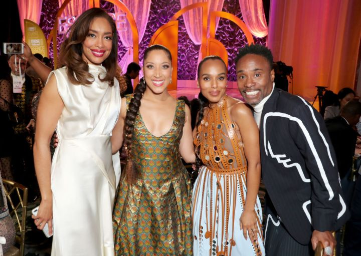 Gina Torres, Robin Thede, Kerry Washington, and Billy Porter